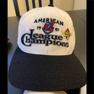 Vintage Cleveland Indians World Series SnapBack